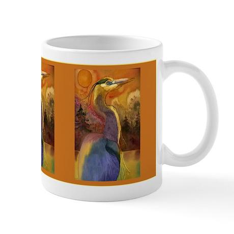 Gold Moon Landscape and Great Mug