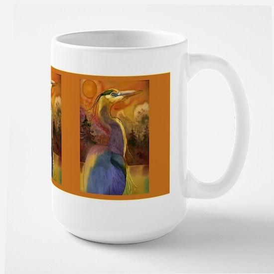 Gold Moon Landscape and Great Large Mug