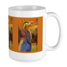 Gold Moon Landscape and Great Mug