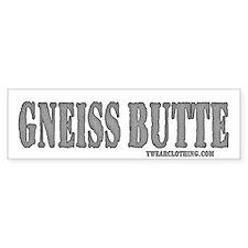 Gneiss Butte Bumper Car Sticker