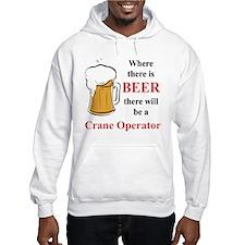 Crane Operator Hoodie Sweatshirt