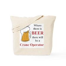 Crane Operator Tote Bag