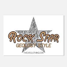 Geology Rock Star Postcards (Package of 8)