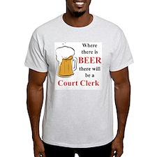 Court Clerk T-Shirt