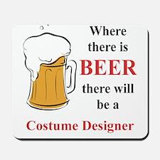 Costume Designer Mousepad