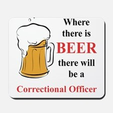 Correctional Officer Mousepad