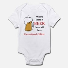 Correctional Officer Infant Bodysuit