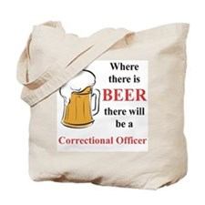 Correctional Officer Tote Bag