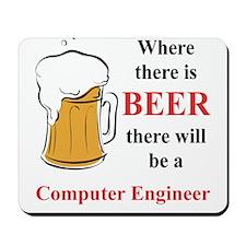 Computer Engineer Mousepad