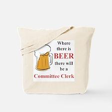 Committee Clerk Tote Bag