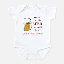 Commercial Driver Infant Bodysuit