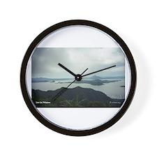 Lake Taal Wall Clock