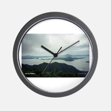 Lake Taal Wall Clock