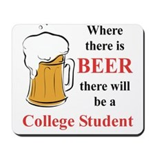 College Student Mousepad