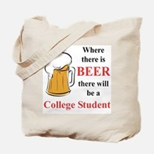 College Student Tote Bag