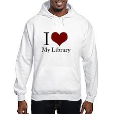 Cute I love my public library Hoodie
