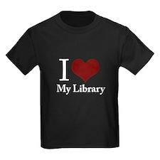 my library_black T-Shirt