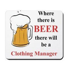 Clothing Manager Mousepad