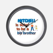Mitchell - Going to be Big Br Wall Clock
