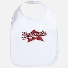 Baseball English Springer Spaniel Bib