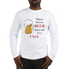 Clerk Long Sleeve T-Shirt
