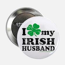"""Love My Irish Husband 2.25"""" Button"""