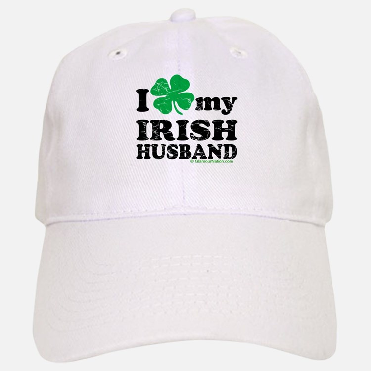 Love My Irish Husband Baseball Baseball Cap