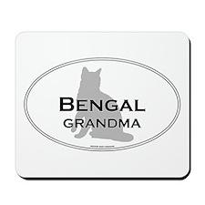 Bengal Grandma Mousepad