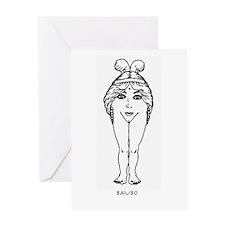 Baubo Greeting Card