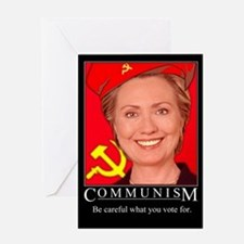 Cute Communism Greeting Card
