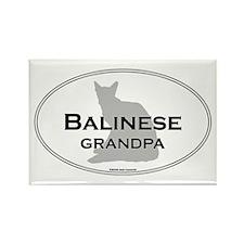 Balinese Grandpa Rectangle Magnet