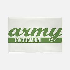 Army Veteran Rectangle Magnet