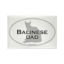 Balinese Dad Rectangle Magnet