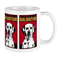Obey the Dalmatian! Propaganda Coffee Mug