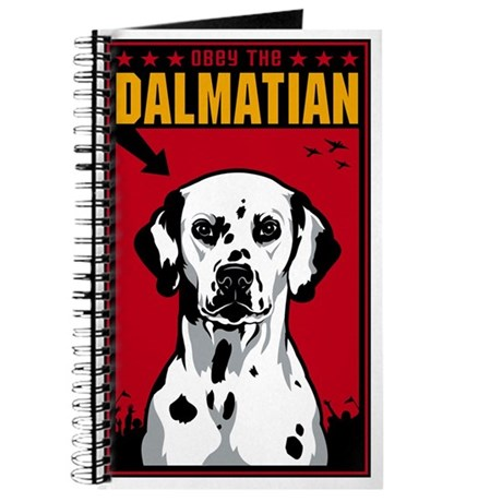 Obey the Dalmatian - Dog Journal by dogs_of_war