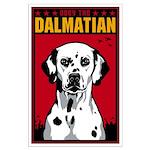 Obey the Dalmatian! Large Propaganda Poster