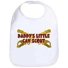 Daddy's Little Cav Scout Bib
