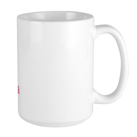 A is for Adrianna Large Mug