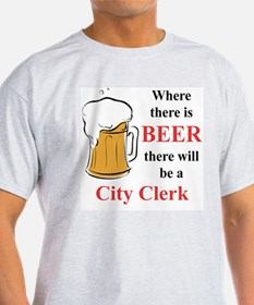 City Clerk T-Shirt