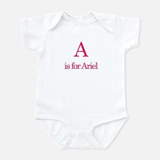A is for Ariel Infant Bodysuit