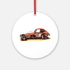 """""""Old Dirt!"""" 8 Freddy Adam 197 Ornament (Round)"""