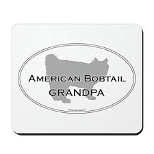 Bobtail Grandpa Mousepad