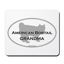 Bobtail Grandma Mousepad