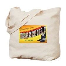 Brookfield Illinois Greetings Tote Bag