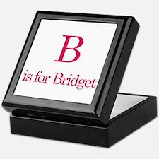B is for Bridget Keepsake Box