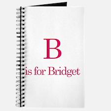 B is for Bridget Journal