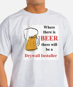 Drywall Installer T-Shirt