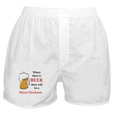 Diesel Mechanic Boxer Shorts