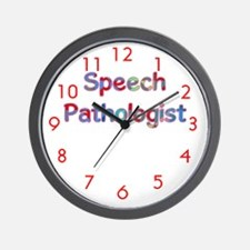 Speech Pathologist Wall Clock