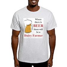 Dairy Farmer T-Shirt